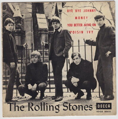 The ROLLING STONES * Bye Bye Johnny * 1964 SPAIN EP *
