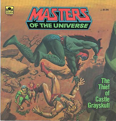 MASTERS OF THE UNIVERSE Story-Book THE THIEF OF CASTLE GRAYSKULL