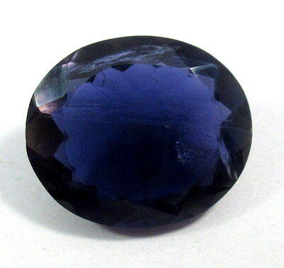29.00 Ct  Natural Purple Purple Blue Gemstone Oval Faceted Cut 25X21X10.4MM  S28