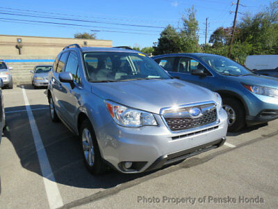 2014 Subaru Forester 4dr Automatic 2.5i Touring PZEV 4dr Automatic 2.5i Touring PZEV SUV CVT Gasoline 4 Cyl SILVER
