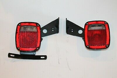 Ford FoMoCo Grote 9130 5370 5371 6C34-13404-AA Tail Light Trailer Set