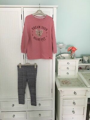Girls Age 8 Next Set Top And Leggings