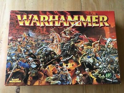 Warhammer 6th edition - Games Workshop boxed game