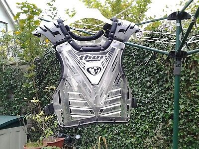 Motocross body armour protection