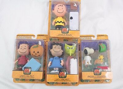 Peanuts The Great Pumpkin Charlie Brown Figure Lot Lucy Charlie Snoopy Linus