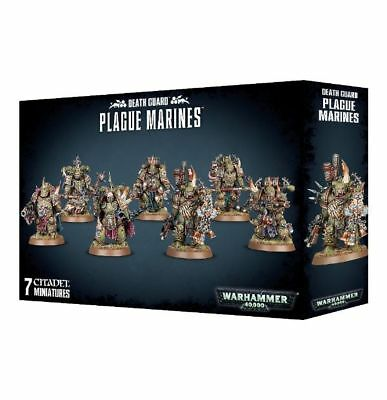 Warhammer 40,000 Chaos Space Marines Deathguard Plague Marines