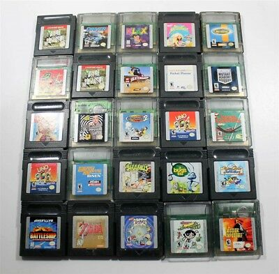 Lot of 50 Game Boy Color Games