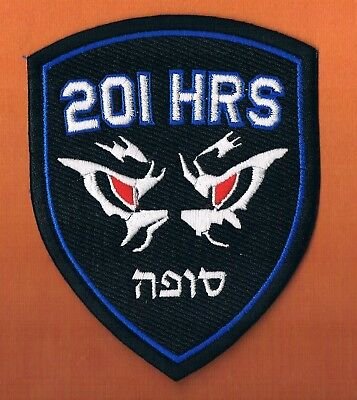 "Israel Idf Af ""the One"" F16I 201Fs  Opposition Collecting Houers Elegant Patch"