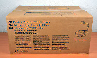New In Box 3M Overhead Projector 1700 Plus Series