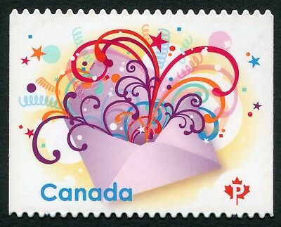 "Weeda Canada 2314i VF NH Die cut 2009 Celebration ""P"", from Annual Collection"