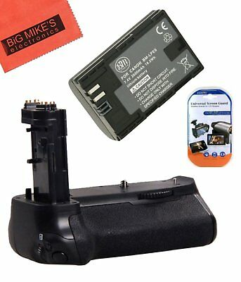 BG-E16 Replacement Battery Grip for Canon EOS 7D Mark II + 1 LP-E6N Battery