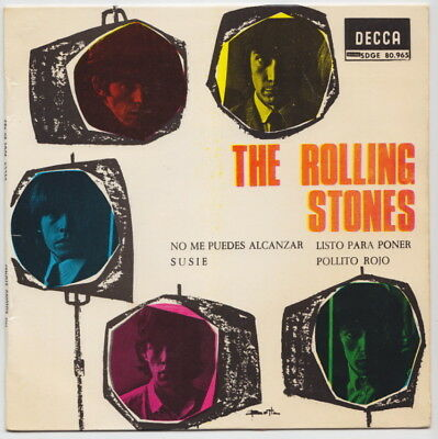 The ROLLING STONES * You Can't Catch Me * 1965 SPAIN EP *