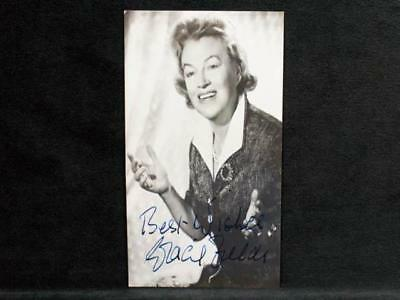 NobleSpirit NO RESERVE {3970} Scarce Gracie Fields Photo with Autograph