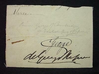 NobleSpirit NO RESERVE {3970} Prince George, Duke of Cambridge Autographed Page