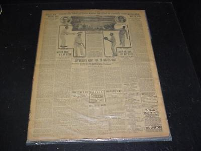 NobleSpirit NO RESERVE {3970} 1905 The Globe New York Newspaper Sports Coverage