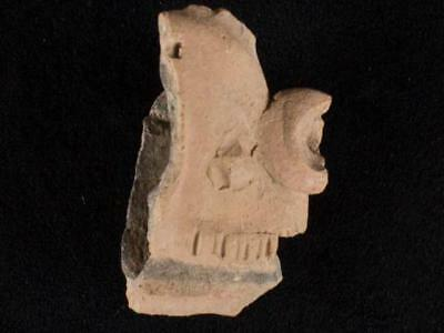 NobleSpirit NO RESERVE {3970} Fantastic Pre Columbian Fragment of Head or Diety