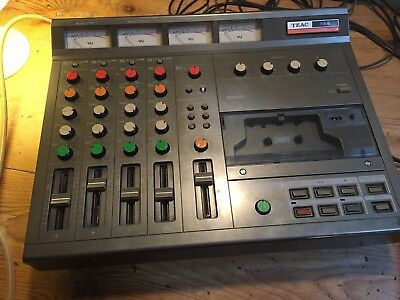 Teac 144 The First Four Track Cassette Recorder Tascam 244