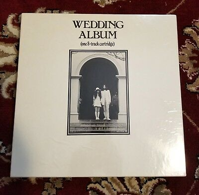 Beatles RARE JOHN LENNON WEDDING ALBUM 8 TRACK LP BOX WITH ALL INSERTS SEALED!