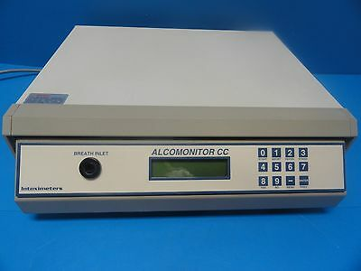 INTOXIMETER AlcoMonitor CC Bench-Top Evidential Breath Test(EBT) Instrument/6826