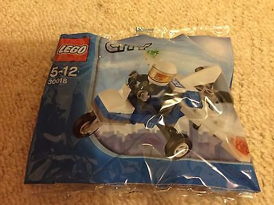 LEGO City 30018 Police Microlight - Brand New -Polybag