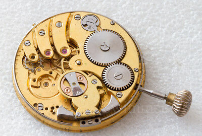 oversize repetition pocket watch movimento tasca incompleto for spares parts