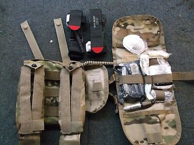 Us Army Issue Sekri Multicam Individual First Aid Kit With 2 Tourniquets