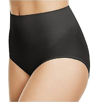 New WACOAL 809258 Zoned 4 Shape Brief Panties M L XL 2XL Black Nude $52 NWT