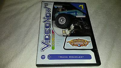 VideoNow Color Discovery Channel Monster Garage Rock Crawler **FREE SHIPPING**