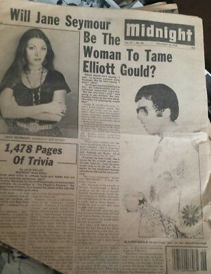 Midnight Cover 1976 Jane Seymour Elliott Gould Linda Blair Angie Dickinson story
