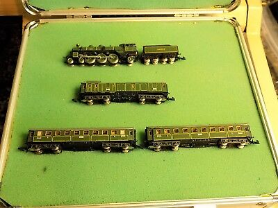 Marklin Z Scale Sound Custom  8102 Dcc, Sound Leds In Cars  Set One Of A Kind