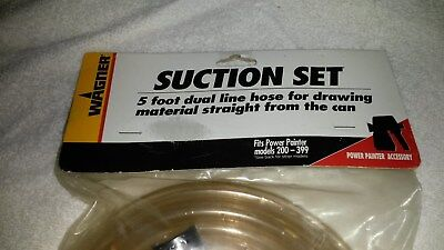 Wagner Suction Set 5 ft Dusl Line Hose P/N 0272910  ***FREE SHIPPING***