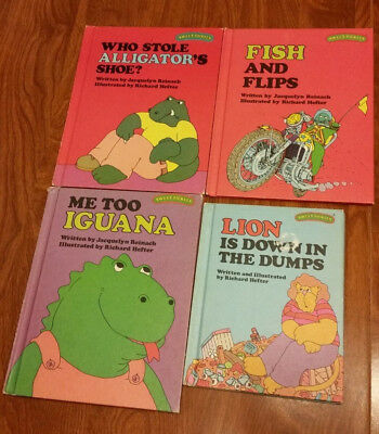 SWEET PICKLES 4 hardcover books 1977 ALLIGATOR FISH IGUANA LION