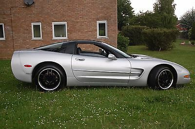 1998 Corvette C5 6 Speed, Silver/Black high miles : first to view will buy