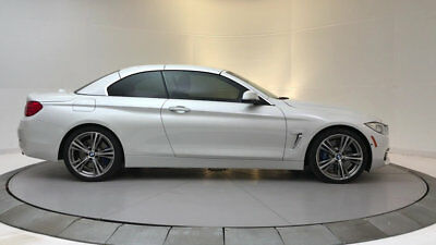 2015 BMW 4-Series 435i 435i 4 Series 2 dr Convertible Automatic Gasoline 3.0L Straight 6 Cyl WHITE