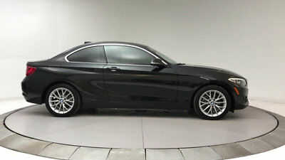 2015 BMW 2 Series 228i 228i 2 Series Low Miles 2 dr Coupe Automatic Gasoline 2.0L 4 Cyl Black Sapphire