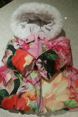 Little girls gorgeous Ted Baker coat size 12-18 months