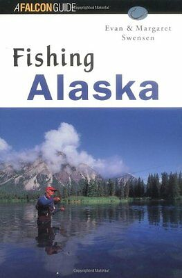 FISHING ALASKA Falcon Guide Book Fly Freshwater Saltwater Angling Tips Salmon