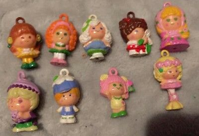 LOT Vintage Toy HASBRO CHARMKINS 1980's Tons of Charms Train, Cases, Acces. More