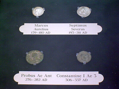Roman Kings 4 Coin Lot All Older Than 350 Ad