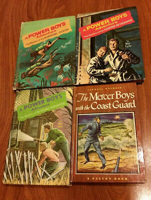 POWER BOYS 3 books / 1 MERCER BOYS book