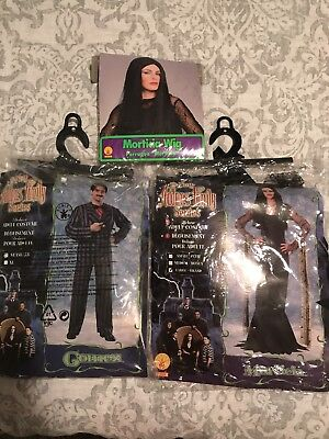 Couples Costumes Morticia Size Large