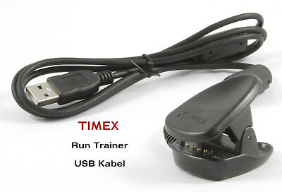 Timex Ironman Run Trainer USB Cable - Speed & Distance - t5k549 etc.