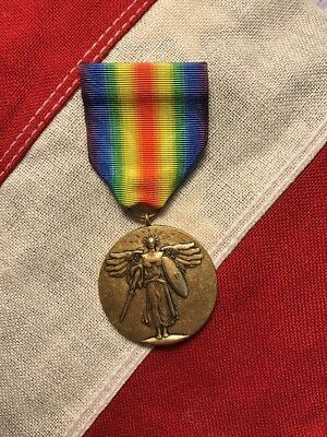 US Armed Forces Regulation Mounted WW1 Victory Medal