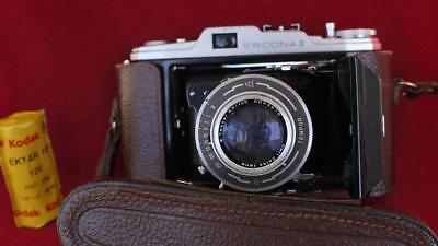 Zeiss Ikon Ercona II 6x9 & 6x6 w/ f3.5 T coated TESSAR   - serviced of course!