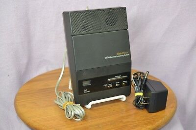 GoldStar Model 6600 Telephone Answering System with AC Adapter TESTED