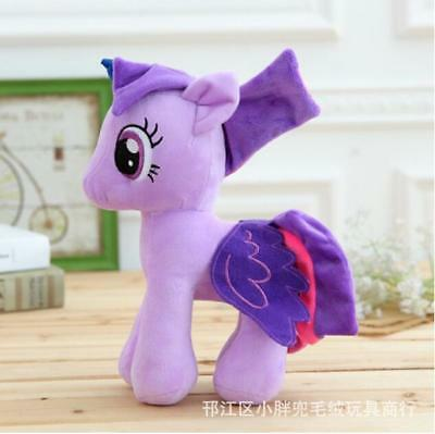 15cm / 5.9inch. Pony doll stuffed Toys Horse Cute Xmas Purple Gift For Kids baby