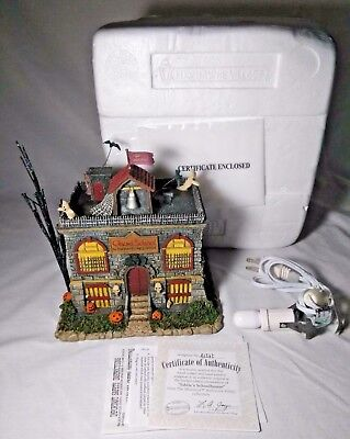 """Hawthorne Village The Munsters Collection """"Eddie's School House"""" Ghoul School"""
