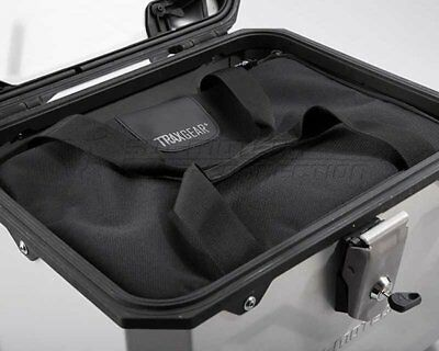 Inside pocket Topcase 600D Polyester TRAX + GEAR. Black. For all TraX topcases.