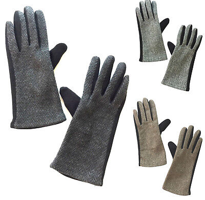 Womens Warm Smart Touch Screen Gloves windproof winter driving everyday gloves