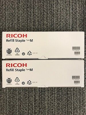 Genuine Ricoh Refill Staple Type M 413026